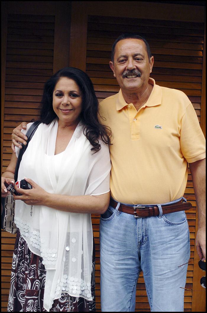 Isabel Pantoja junto al exalcalde de Marbella Julián Muñoz/Gtres