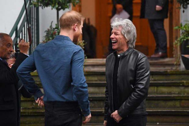 Bon Jovi, príncipe Harry