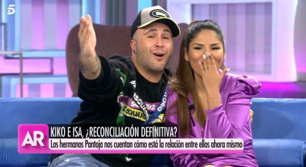 Kiko Rivera e Isa Pantoja en 'El programa de Ana Rosa'/Mediaset