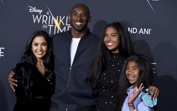 La familia Bryant en un photocall / GTres