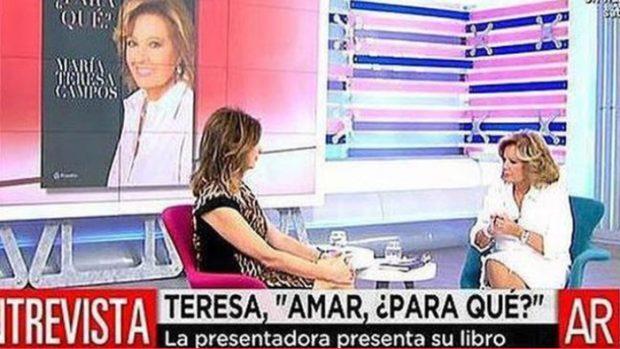 María Teresa Campos y Ana Rosa Quintana en una imagen de archivo/Mediaset