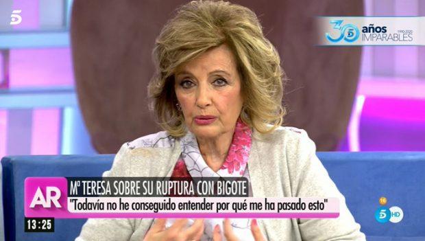 María Teresa Campos en 'El Programa de Ana Rosa'/Mediaset
