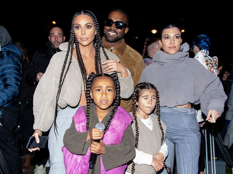 Kourtney Kardashian y Kim Kardashian