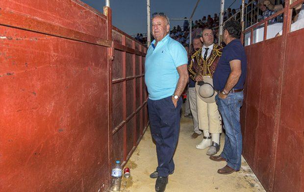 Humberto durante un festival taurino en Prado del Rey, Cádiz, concretamente en julio de 2018 / GTres