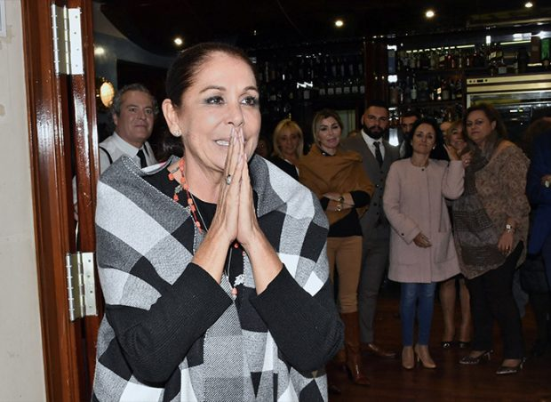 La cantante en un evento de Sevilla / GTres
