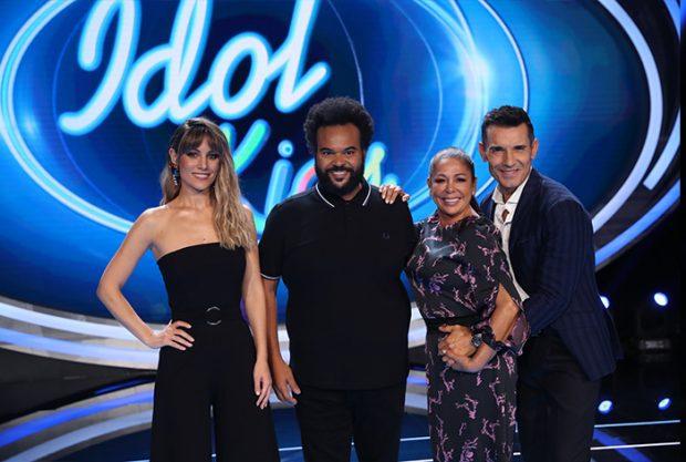 Todos los integrantes del nuevo programa de talentos de Telecinco, con Isabel Pantoja a la cabeza / GTres