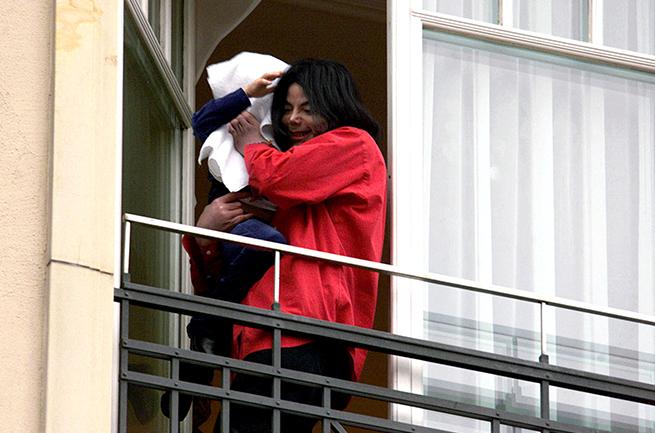Michael Jackson, Blanket Jackson