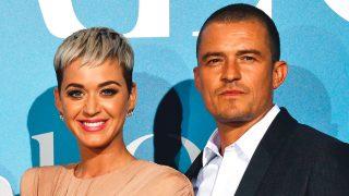 La cantante Katy Perry y el actor Orlando Bloom. / Gtres