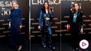 María León, Helen Lindes, María Palacios… el azul tiñe la alfombra roja de Cheska/Gtres