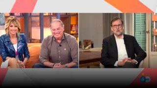Bertín Osborne ha recordado junto a Mariano Rajoy la grabación de la entrevista que le hizo al expresidente/Telecinco