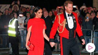 Los duques de Sussex, al rojo vivo en el Royal Albert Hall/Gtres