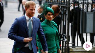 Los duques de Sussex llegando al día de la Commonwealth, 2020/ GTRES