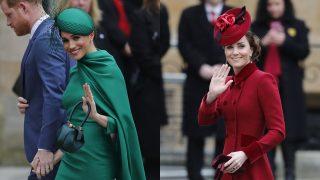 Meghan Markle y Kate Middleton en un montaje de Look