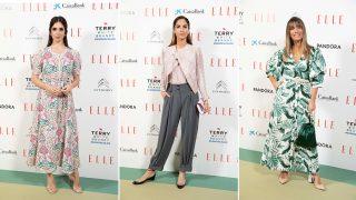 Elena Furiase, Eugenia Silva y Flor González en el encuentro organizado por 'Elle' con motivo del Día Internacional de la Mujer / Gtres