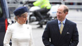 Sophie de Wessex a su llegada a Westminster / Gtres