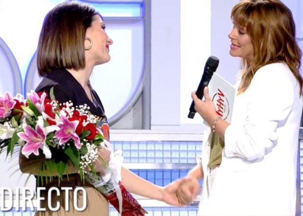 Toñi Moreno y Nagore Robles en la vuelta de la andaluza a los platós después de dar a luz / Telecinco