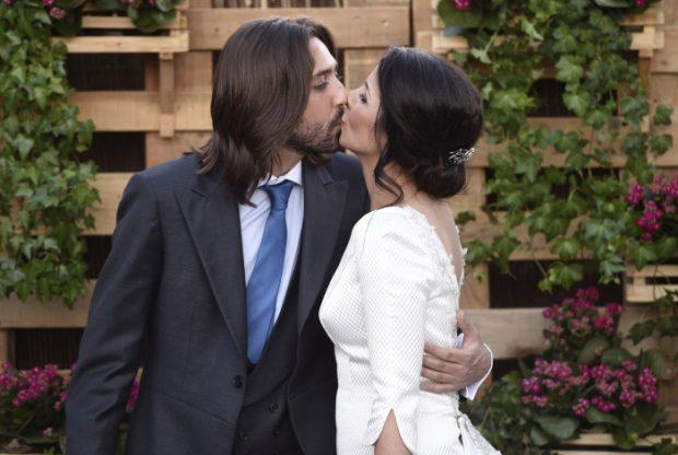 Boda de la pareja entre Juan Carmona y Sara Verdasco en 2016. Imagen de archivo / GTres