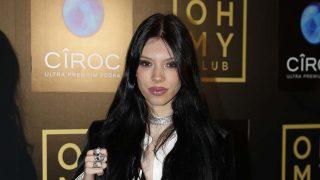 Alejandra Rubio en el photocall del primer aniversario de la discoteca 'Oh My Club'. / GTRES