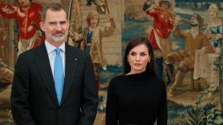 Don Felipe y doña Letizia el pasado mes de frebrero / Gtres