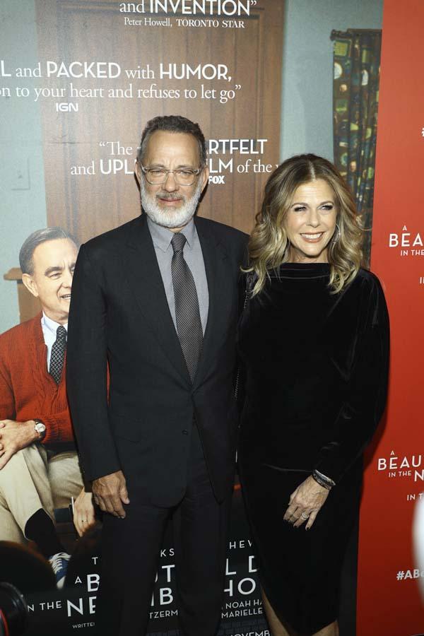 Tom Hanks y su mujer, Rita Wilson