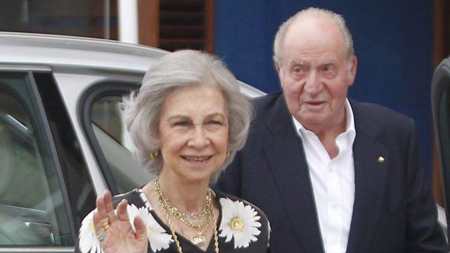 reina Sofía, rey Juan Carlos