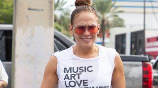 La actriz y cantante Jennifer Lopez. / Gtres