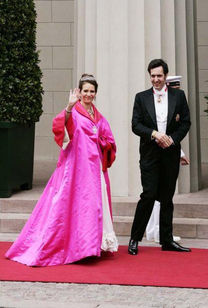 Elena de Borbón y Jaime de Marichalar en la boda del príncipe heredero Federico de Dinamarca. Imagen de archivo / GTRES