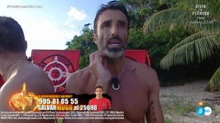 Hugo Sierra parece haber superado su historia con Adara./Mediaset