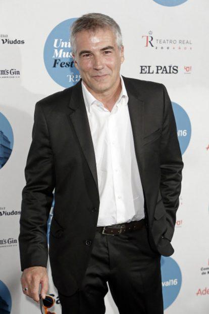 El periodista David Cantero asistiendo Universal Music Festival/Gtres