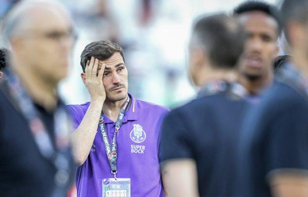 Casillas con el Oporto durante un partido de fútbol / GTRES