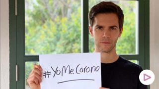 Marc Clotet apoyando la campaña #YoMeCorono contra el COVID-19./ Instagram