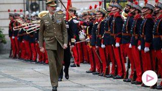 El rey Felipe y otros 'royal' que lucen con orgullo el uniforme militar/Gtres