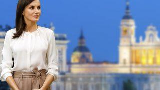 La reina Letizia en un fotomontaje de Look / Gtres