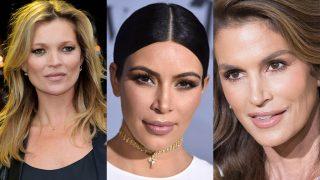 Kate Moss, Kim Kardashian y Cindy Crawford en imágenes de archivo / Gtres