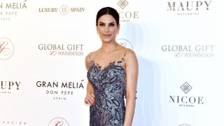 Carla Barber durante la gala 'Global Gift' en Marbella, 2018./ GTRES