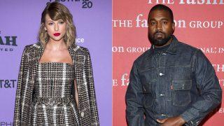 Taylor Swift y Kanye West / Gtres