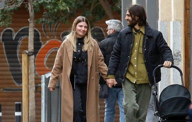 Un 8 de marzo diferente para Miriam Giovanelli, ya que decidieron dar una vuelta con su hija / GTRES