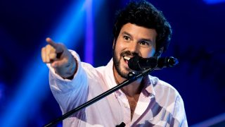 Willy Bárcenas cantando en 'El Hormiguero' / Gtres