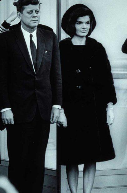 John Kennedy y Jackie Kennedy
