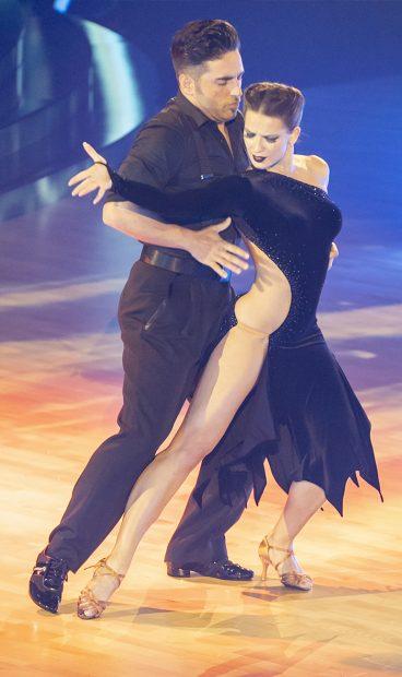 David Bustamante y Yana Olina se conocieron en el programa de baile 'Bailando con las estrellas' / GTRES