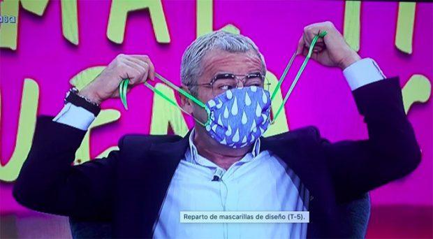 Jorge Javier Vázquez en 'Sábado Deluxe' /Mediaset