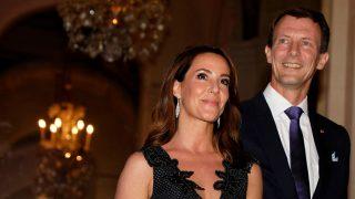Marie y Joaquín de Dinamarca en un acto en París / Gtres