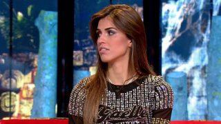 Sofía Suescun en el plató de 'Supervivientes' / Telecinco