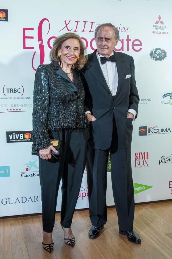 Jaime Peñafiel y Carmen Alonso