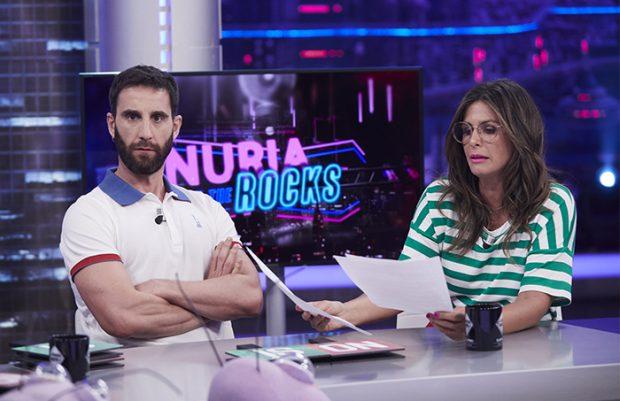 Nuria Roca ha sido una de las caras conocidas que le ha mandado todo su apoyo a Dani Rovira en estos momentos tan complicados para el actor / GTRES