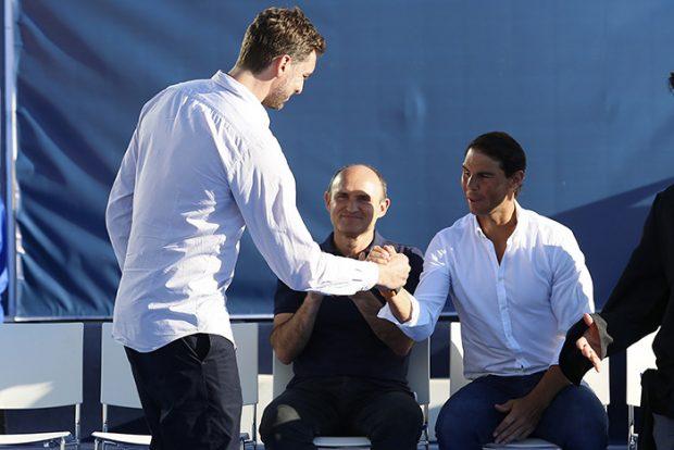 Pau Gasol y Rafa Nadal en una imagen de archivo/Gtres