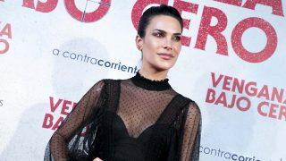 Carla Barber en la premier de la película 'Venganza bajo cero' en Madrid, 2019./  GTRES