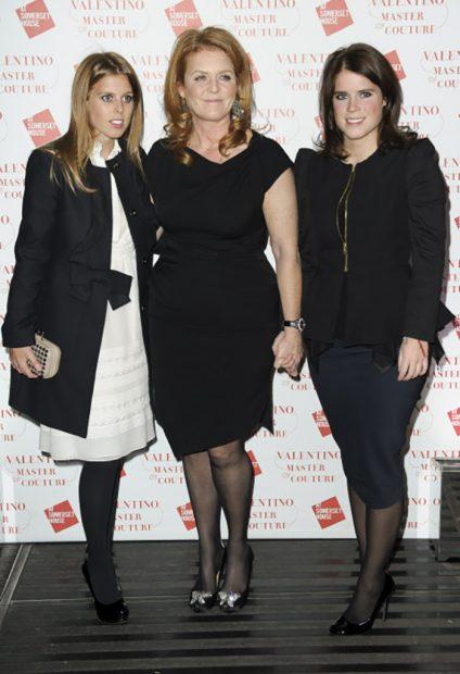 Sarah Ferguson y sus hijas desafían al coronavirus para apoyar a los sanitarios