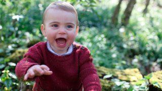 El príncipe Louis en su primer cumpleaños / Gtres