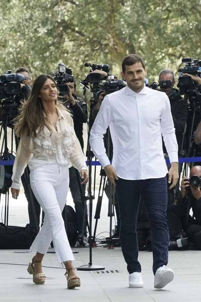Sara Caronero e Iker Casillas
